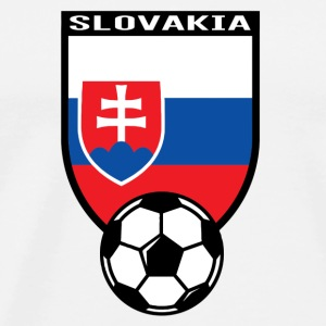 European Football Championship 2016 Slovakia Tanks - Men's Premium T-Shirt