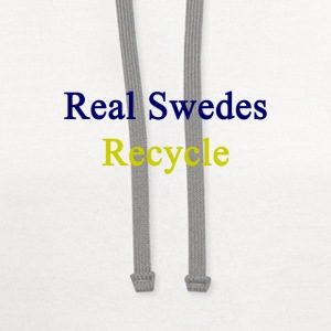 real_swedes_recycle T-Shirts - Contrast Hoodie