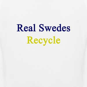 real_swedes_recycle T-Shirts - Men's Premium Tank