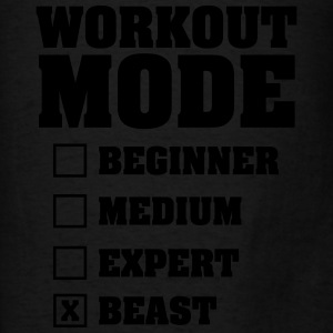 Workout Mode (Beast) Tanks - Men's T-Shirt