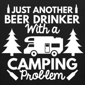 Beer Drinker Camping - Men's Premium Tank
