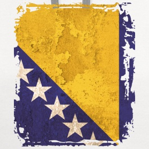 Bosnia and Herzegovina Flag T-shirt - Contrast Hoodie