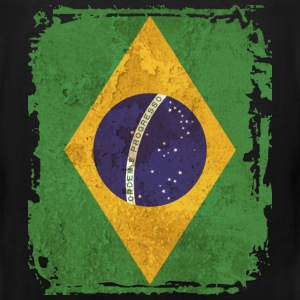 Brazil Flag T-shirt - Men's Premium Tank