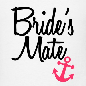 Bride's Mate bridesmaid matching tank top shirts - Men's T-Shirt