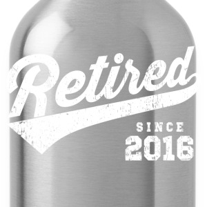 Retired Since 2016 T-Shirts - Water Bottle