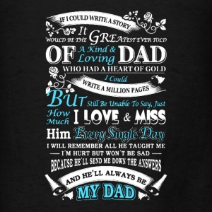 My Dad - Men's T-Shirt