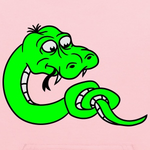 knot knotted snake funny comic cartoon T-Shirts - Kids' Hoodie