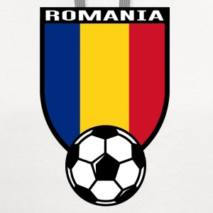 European Football Championship 2016 Romania Long Sleeve Shirts - Contrast Hoodie
