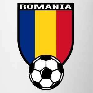 European Football Championship 2016 Romania Long Sleeve Shirts - Coffee/Tea Mug