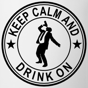 Keep Calm And Drink On Seal Polo Shirts - Coffee/Tea Mug