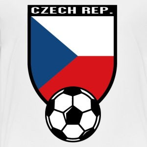 European Football Championship 2016 Czech Republic Kids' Shirts - Toddler Premium T-Shirt