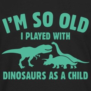 Played With Dinosaurs - Men's Premium Long Sleeve T-Shirt
