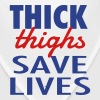 THICK THIGHS SAVE LIVES Caps - Bandana