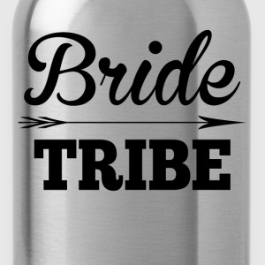 Bride Tribe BridesMaid Groom Wedding T-Shirts - Water Bottle