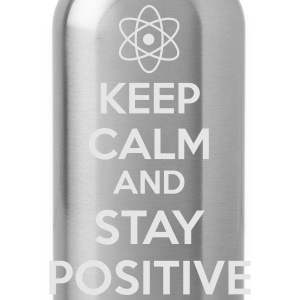 Keep Calm Positive Bags & backpacks - Water Bottle
