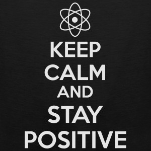 Keep Calm Positive Bags & backpacks - Men's Premium Tank