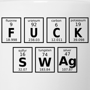 Periodic Table Of Fuck Swag Caps - Coffee/Tea Mug