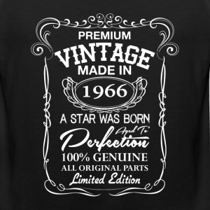 vintage made in 1966 T-Shirts - Men's Premium Tank