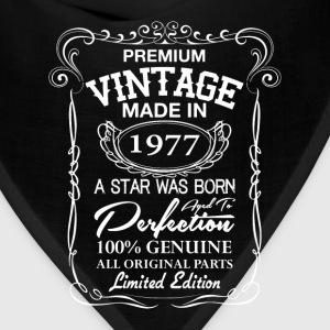 vintage made in 1977 T-Shirts - Bandana
