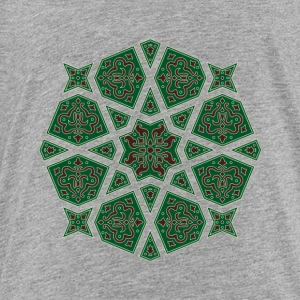 Egyptian arabic geometric tile in brown and grey Kids' Shirts - Toddler Premium T-Shirt
