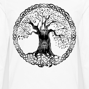 TREE OF LIFE - evil eyes - Men's Premium Long Sleeve T-Shirt