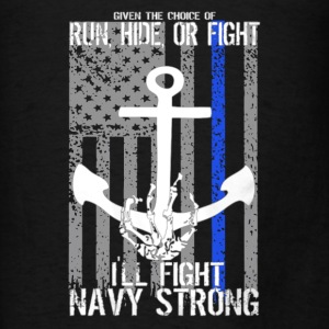 Navy Strong Shirt - Men's T-Shirt