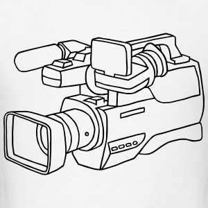 video camera - Men's T-Shirt