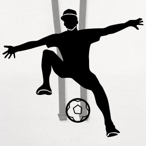freestyle soccer T-Shirts - Contrast Hoodie