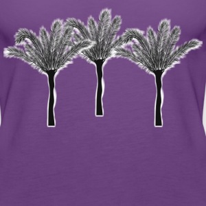palm trees - Women's Premium Tank Top