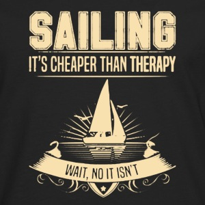 Sailing Therapy Shirt - Men's Premium Long Sleeve T-Shirt