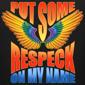 Put Some Respeck On My Name Birdman - Men's Premium Tank