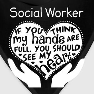 Social Worker Shirt - Bandana