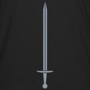 Monochrome sword Hoodies - Men's Premium Long Sleeve T-Shirt