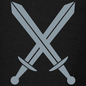 Crossed swords Hoodies - Men's T-Shirt