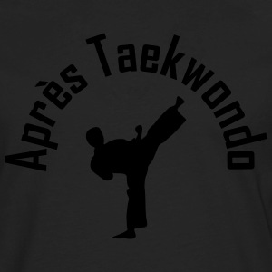 apres taekwondo T-Shirts - Men's Premium Long Sleeve T-Shirt
