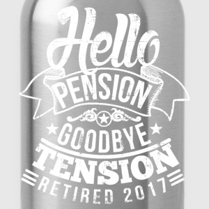 Retirement Pension 2017 T-Shirts - Water Bottle