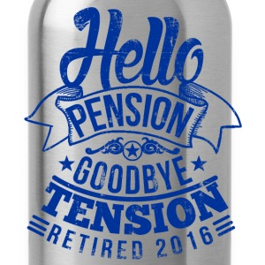 Retirement 2016 T-Shirts - Water Bottle
