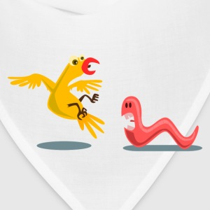 Yellow bird early eat scared the Kablam T-Shirts - Bandana