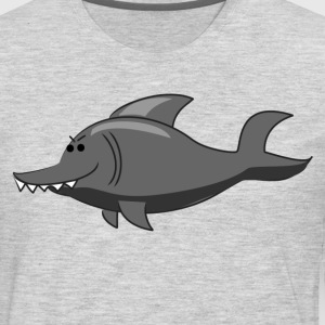 Sharp toothed dolphin T-Shirts - Men's Premium Long Sleeve T-Shirt