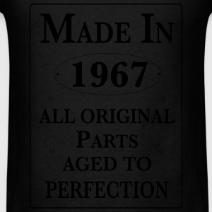 made in 1967 birthday Long Sleeve Shirts - Men's T-Shirt