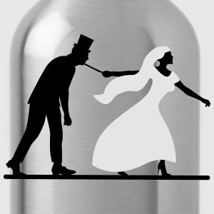 game over bride and groom wedding stag night Sportswear - Water Bottle