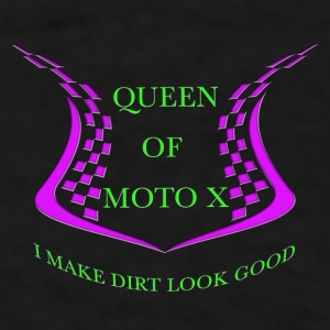 Queen of Moto x - Men's T-Shirt