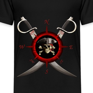 Pirate Compass - Toddler Premium T-Shirt