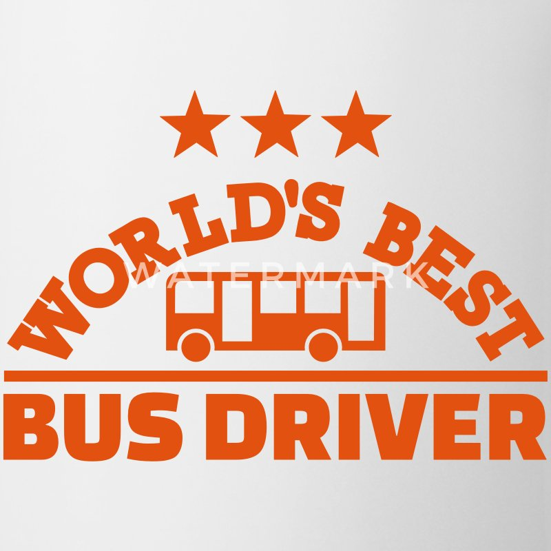 Best bus driver Mugs & Drinkware - Coffee/Tea Mug
