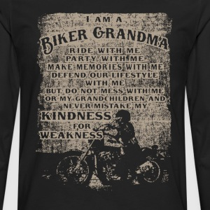 Biker Grandma shirt - Men's Premium Long Sleeve T-Shirt