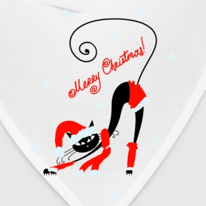 Amusing Christmas cats graphics T-Shirts - Bandana