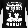 GOALIE shirt - Women's Long Sleeve Jersey T-Shirt