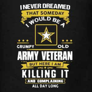 Army Veteran shord shirt - Men's T-Shirt