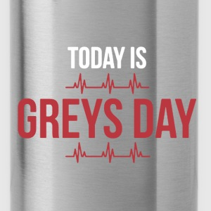 Greys day - Water Bottle