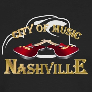 Nashville. City of music Women's T-Shirts - Men's Premium Long Sleeve T-Shirt